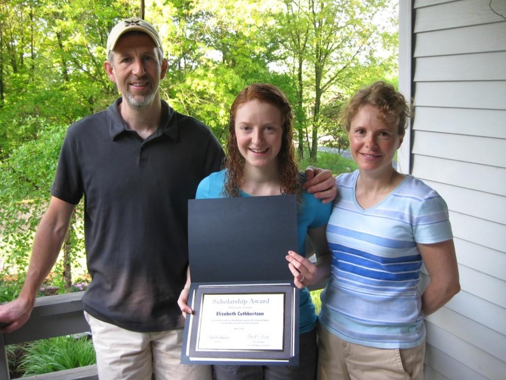 West Michigan Savoyards 2013 Scholarship Winner